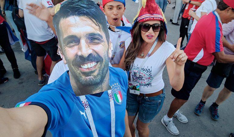 Италия не участвует в Мундиале, а Буффон гоняет по России