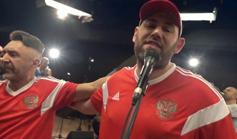 Семен Слепаков и группа Ленинград записали песню и сняли клип про Российскую сборную