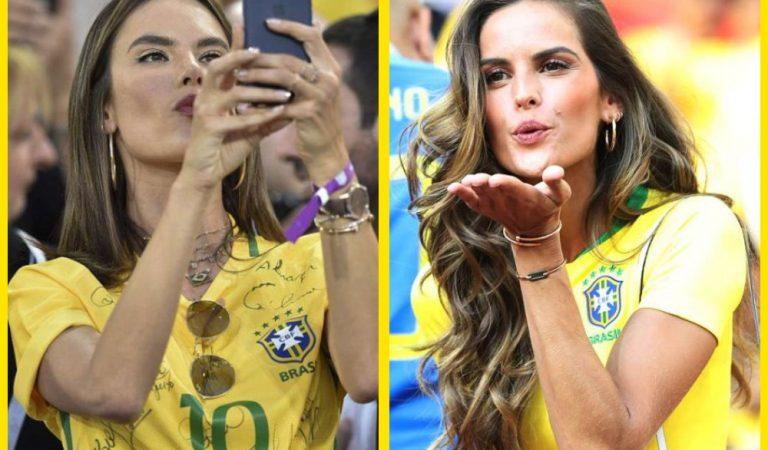 Ангелы на трибунах. Супермодели Victoria's Secret на Чемпионате мира 2018 в России посмотрели матч Сербия — Бразилия