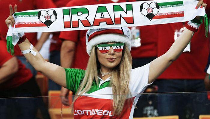 Мусульманская красота. Девушки которые болели за Сборную Ирана на Чемпионате мира по футболу 2018