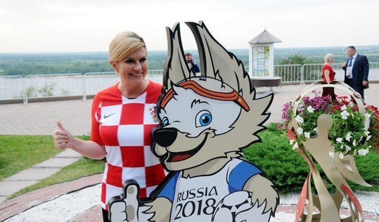 Очаровательный президент Хорватии Колинда Грабар-Китарович