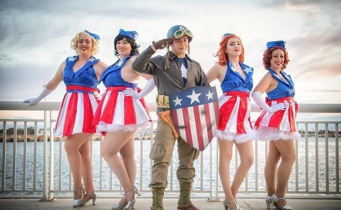 Лучшие косплей костюмы с «Comic Con 2018» в Сан-Диего