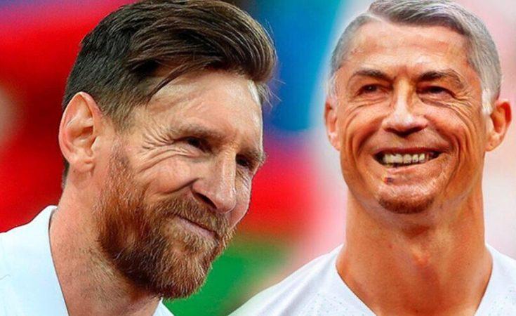 Старички-боровички! Как будут выглядеть футболисты игравшие на чемпионате мира 2018 года к следующему Мундиалю