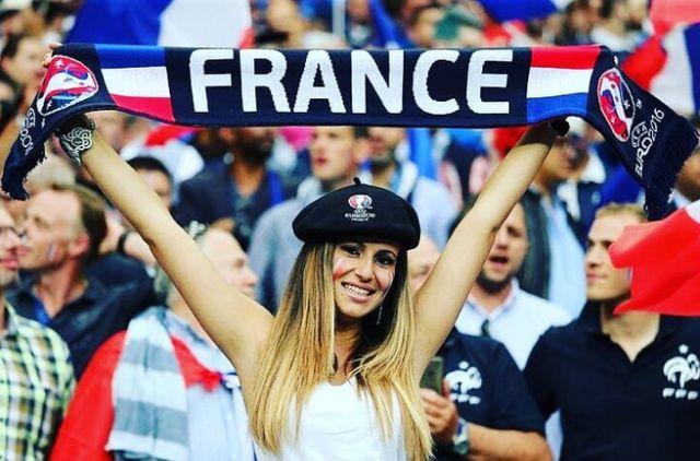 Французское очарование. Болельщицы Сборной Франции
