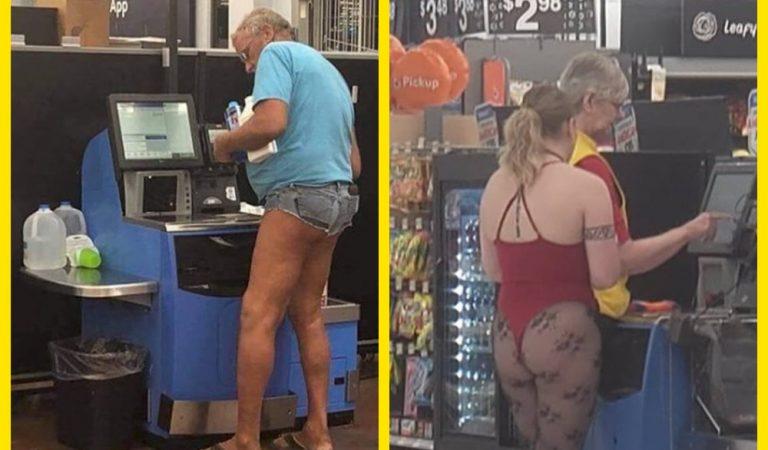 Чудаковатые покупатели Walmart. Часть 2